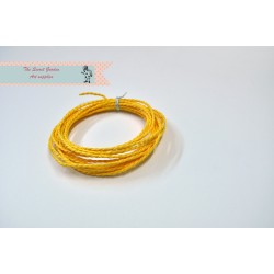 Eco paper twine- yellow