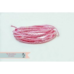 Eco paper twine- pink