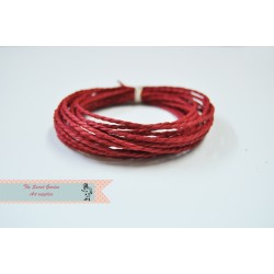 eco paper twine 4 meters -red