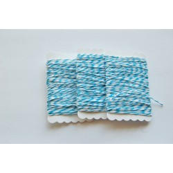 Bakers Twine blue and white 12 meters