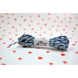 eco paper twine 5 meters -navy blue and blue