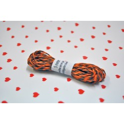 eco paper twine 5 meters -brown and orange