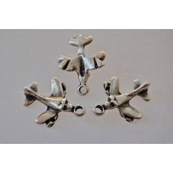 funny airplane-metal charm