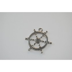 metal - big boat rudder charm
