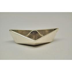 big 3d paper boat-metal charm
