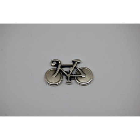 1 x bicycle silver charm