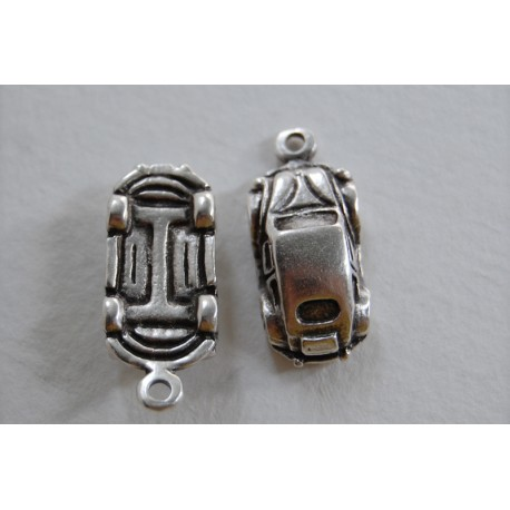 metal car-volkswagen beetle - charm