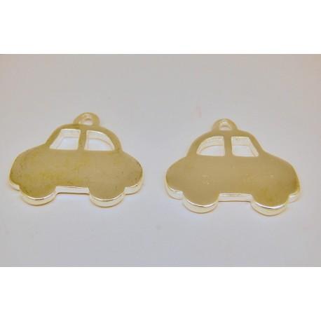 beetle  car - metal  charm