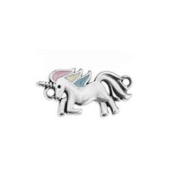 unicorn enameled