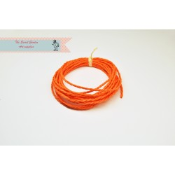 eco paper twine 4 meters -orange